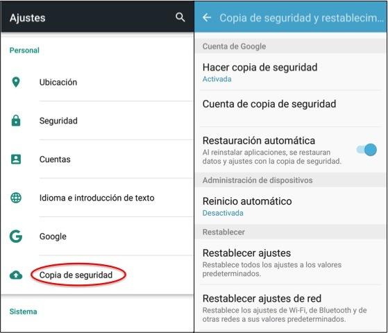 ¿Cómo hacer una copia de seguridad de Android? Muy Fácil + 4 formas
