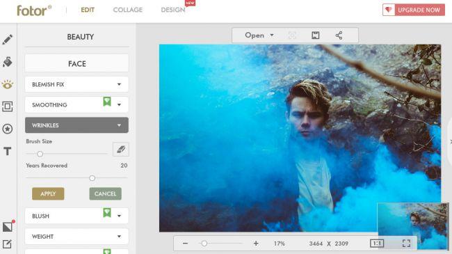 Editor de fotos Adobe Photoshop Express