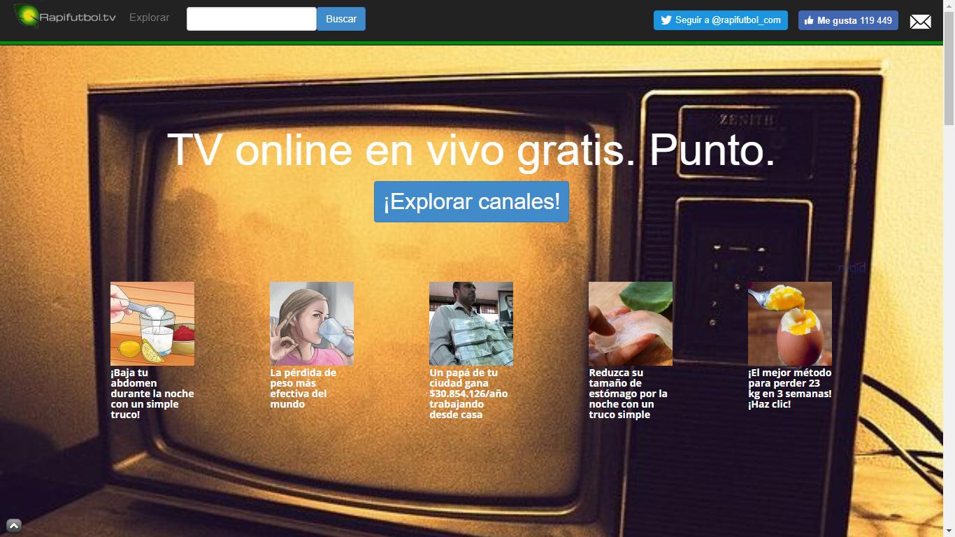 Tv online en vivo gratis